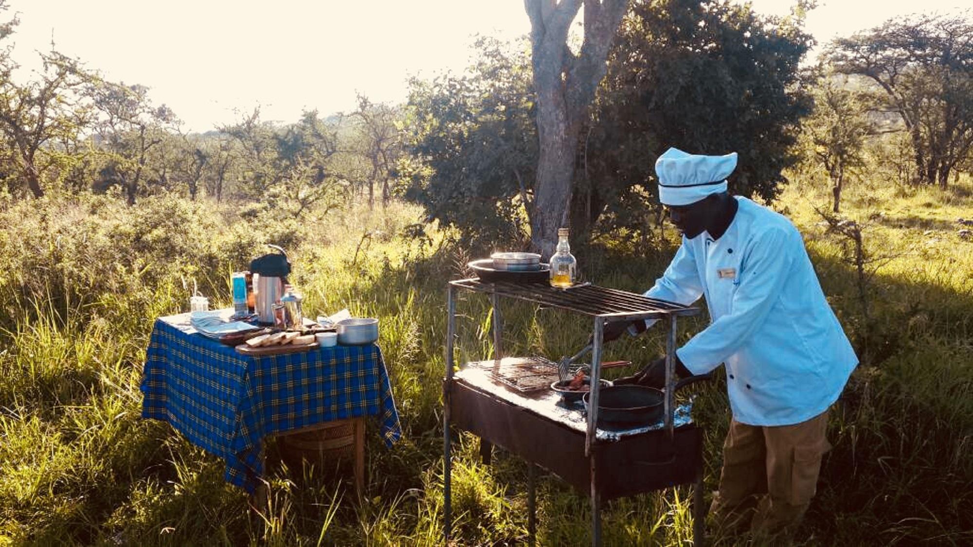 Fly Camping Serengeti